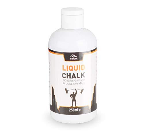 Anstore 250ml Liquid Chalk Flüssigkreide für maximalen Grip beim Sport -zum Bouldern Klettern Turnen