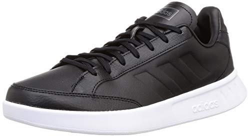 adidas Herren Netpoint Tennisschuhe, Negbás/Negbás/Ftwbla, 42 EU