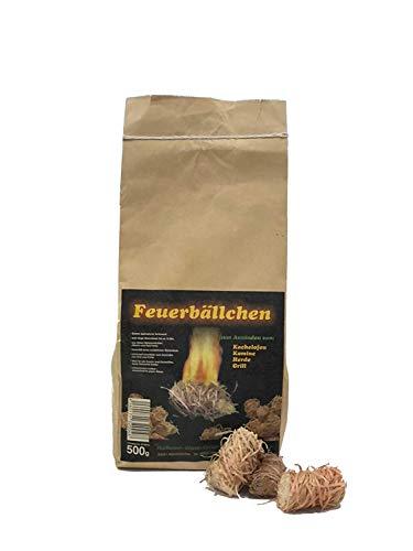 RaiffeisenWaren 104092 Kaminanzünder, Feueranzünder, Feuerbällchen (Anzünder ökologisch, aus...