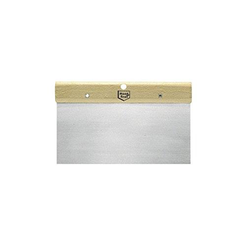 SCHULLER Japanspachtel rostfrei mit Holzgriffleiste, breite 160 mm, 1 Stück, 50122