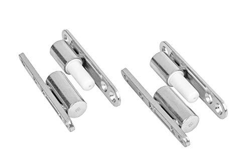 Gedotec Renovierbänder Zimmertür Türbänder für Innentüren zum Aufschrauben   Stahl verzinkt  ...