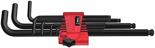 Wera 950 PKL/9 BM N Winkelschlüsselsatz, metrisch, BlackLaser, 9-teilig, 05022086001