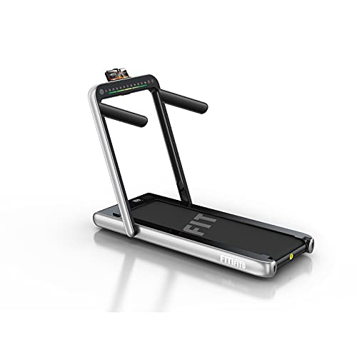Fitifito ST100 2021 Edles Laufband Walkingpad im Büro Mini klein zuhause 1.0-12 km/h Bluetooth Fernbedienung...