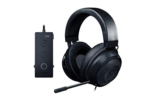 Razer Kraken Tournament Edition THX 7.1 Surround Sound Gaming Headset: Aluminum Frame - Retractable Noise...