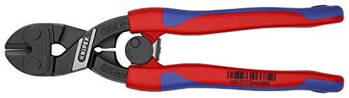KNIPEX 71 12 200 CoBolt® Kompakt-Bolzenschneider schwarz atramentiert mit schlanken Mehrkomponenten-Hüllen...