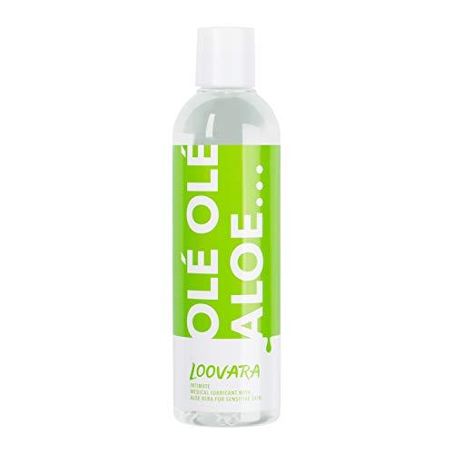 Loovara Olé Olé Aloe – Gleitgel mit Aloe Vera   für sensible Haut   ph-optimiert, dermatologisch getestet...