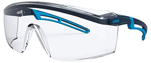 Uvex Arbeitsschutzbrille/Bgelbrille 9164 astrospec 2.0, blau/hellblau, Scheibe: farblos, 2-1,2
