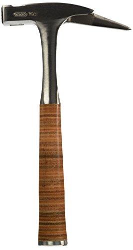Picard Ganzstahl-Latthammer mit Ledergriff aus echtem Kernleder, magnetischer Nagelhalter, aus hochwertigem...