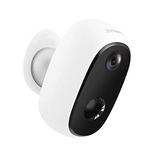 Überwachungskamera mit Akku 10000mAh,1080P kabellose Outdoor WLAN IP Kamera mit...