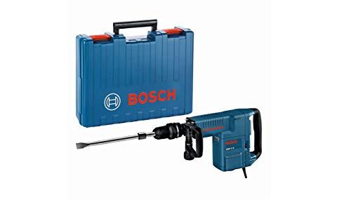 Bosch Professional Schlaghammer GSH 11 E (mit SDS-max, Flachmeißel, 16,8 J Schlagenergie, 1.500 W, im Koffer)