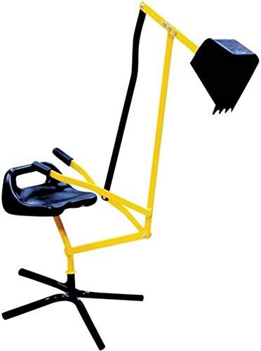 The Toy Company 0013385 Outdoor Active Metall Schaufelbagger gelb/schwarz