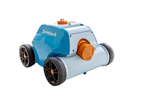 Steinbach Poolrunner Battery+, für Pools bis 80 m² Grundfläche, vollautomatisch, kabelllos, Akku-Betrieb,...