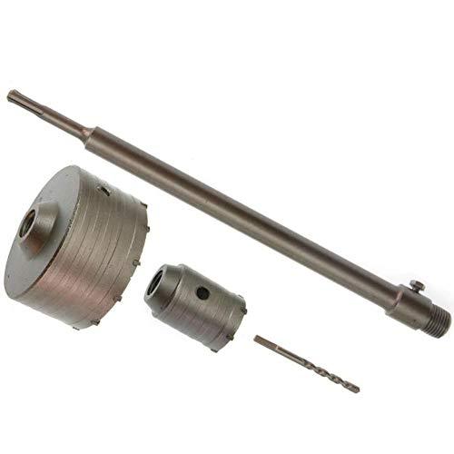 2x SDS-Plus Bohrkrone mit Zentrierbohrer 50 mm + 110 mm