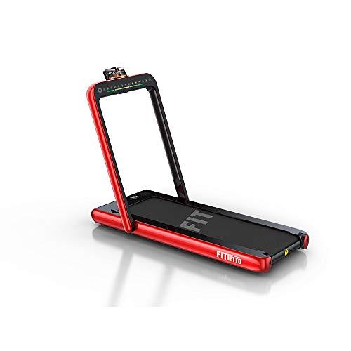 Fitifito ST100 2021 Edles Laufband Walkingpad im Büro zuhause 1.0-12 km/h Bluetooth Fernbedienung komplett...