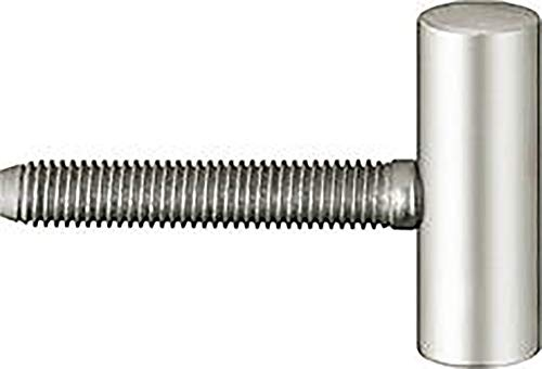 Türband-Flügelteil Variant V 0020 f. gefälzte Türen, Band ø 15 mm, vernickelt ; 1 Stück