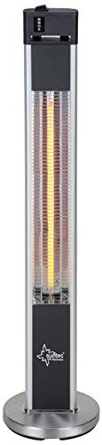 SUNTEC Infrarot-Heizstrahler mit Fernbedienung | Heat Patio 2000 Carbon Wärmestrahler für Terrasse | Outdoor...