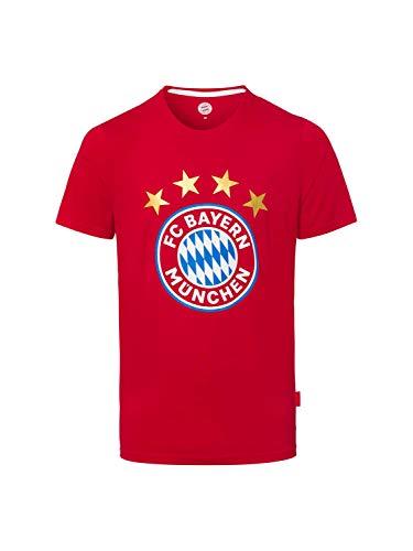 FC Bayern München T-Shirt Logo rot, XXL