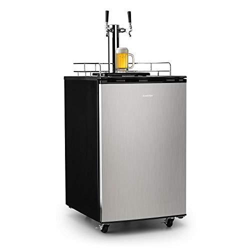 Klarstein Big Spender - Bierfass-Kühlschrank, Getränkefasskühlschrank, Komplettset, CO2 Fässer bis 50 L, 4...