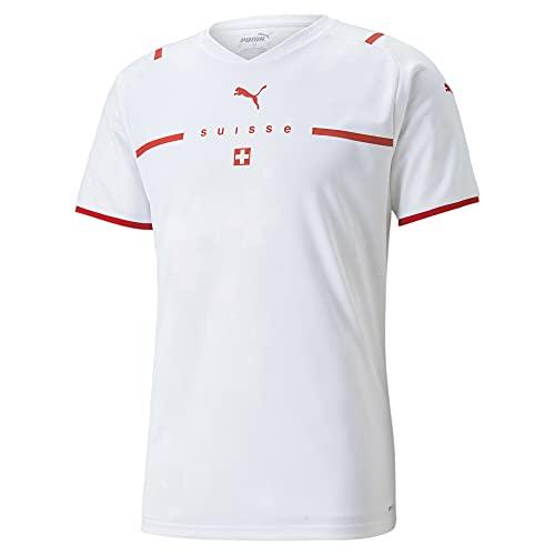 PUMA Herren Sfv Away Replica T Shirt, Puma White-puma Red, XL EU