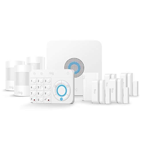 Ring Alarm 10-teiliges Set (1. Generation) von Amazon – Heimsicherheitssystem mit optionaler unterstützter...