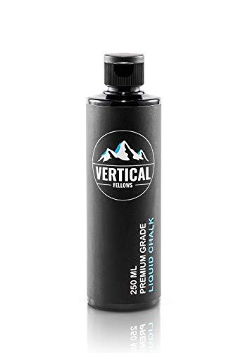 VERTICAL FELLOWS 250ml Liquid Chalk - Flüssigkreide zum Klettern Bouldern Gewichtheben Crossfit - Flüssiges...