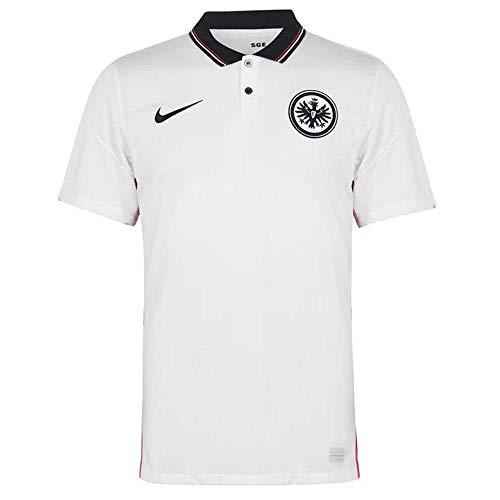 Nike Herren Eintracht Frankfurt BRT Stad Auswärts-Trikot, White/Black, M