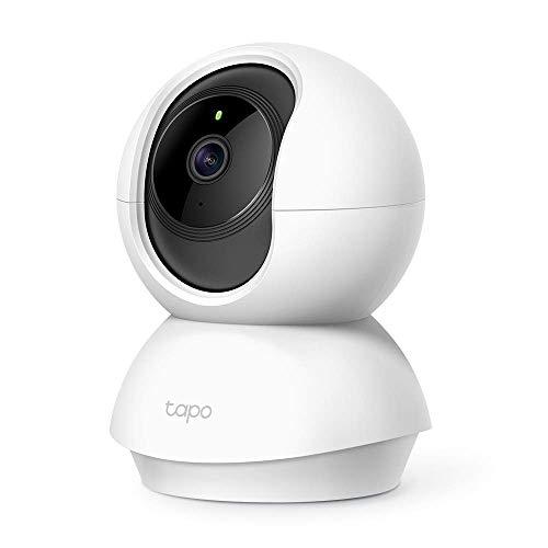 TP-Link Tapo C200 WLAN IP Kamera Überwachungskamera (Linsenschwenkung- und Neigung, 1080p-Auflösung,...