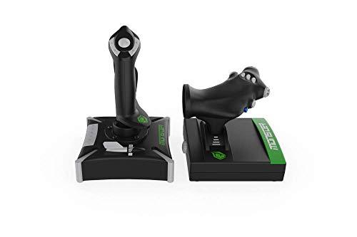 Monster Pusat Pro Flight Stick: Ergonomischer Joystick für den Flugsimulator, Controller mit...