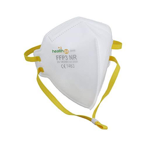 DEVELLE FFP3 Atemschutzmaske 30 Stück Packung CE Zertifiziert einzeln verpackt im hygienischen PE-Beutel Atem...