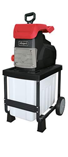 Scheppach Elektro Gartenhäcksler GS50 (Leise-Häcksler mit 2800 Watt, 230 – 240 Volt, max. Aststärke 45...