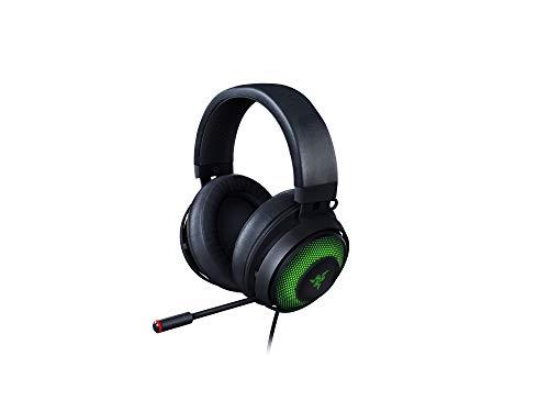 Razer Kraken Ultimate - Gaming Headset (Gaming Kopfhörer für PC & Switch Dock mit Surround Sound, ANC...