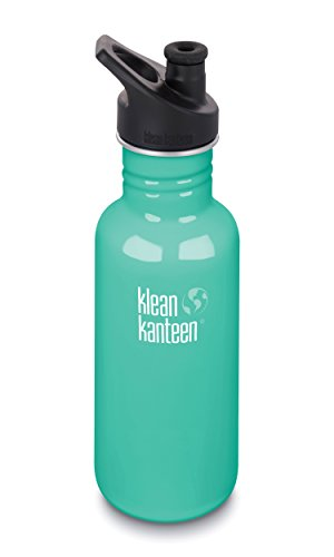 Klean Kanteen 1003177 Trinkflasche, Unisex, Erwachsene, Sea Crest