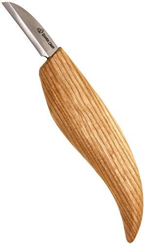 BeaverCraft C2 SCHNITZMESSER aus kohlenstoffreichem Stahl von BeaverCraft messerscharfes Holzwerkzeug ist...