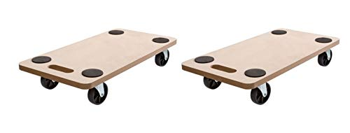(2Stück) Rollbrett Transportrolle Möbelroller Roller Transporter 200kg