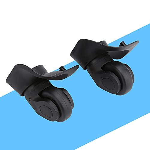 KIKYO Gepäck-Universalräder, 2-teiliger PVC-Universal-Gepäckräder-Ersatz Gleiches Gilt für Offee-Tisch,...