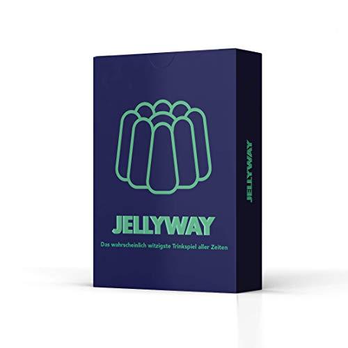 Jellyway® - das wahrscheinlich witzigste Trinkspiel Aller Zeiten | Partyspiel - Kartenspiel - Spieleabend -...