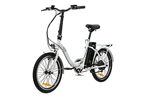 VecoCraft Nemesis Elektro Klapprad,E Bike 20 Zoll,E-Folding Bike mit ausziehbarer Baterrie 36V 288WH, 250W...