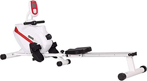 SportPlus Rudergerät klappbar für zuhause, TÜV geprüft, leises & wartungsfreies Magnetbremssystem,...