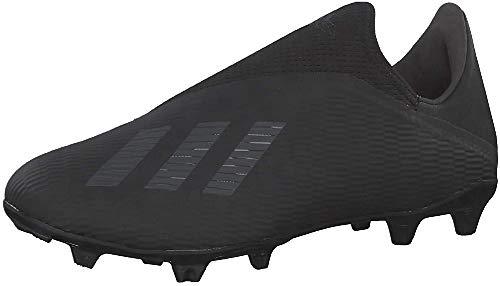 adidas Herren X 19.3 Ll Fg Fußballschuhe, Schwarz (Core Black/Utility Black/Silver Met.), 42 EU
