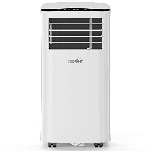 Comfee MPPH-07CRN7 Mobiles Klimagerät, 1100 W, 230 V, weiss, 34, 5 x 35, 5 x 70, 3 cm (BTH), Weiß, 34, 5 x...