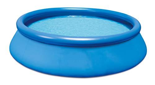 HAFIX Fast Set Pool Quick-Up. Swimmingpool aufblasbar für Garten Terasse Schwimmbad Aufstellpool rund. (366 x...