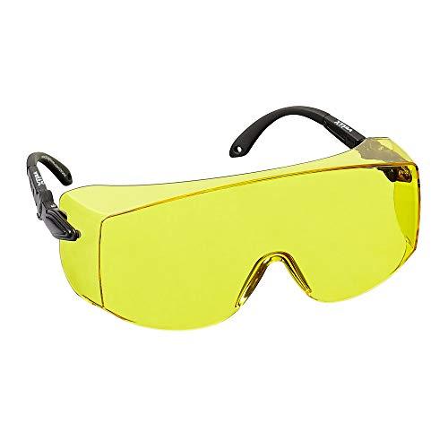 voltX 'OVERSPECS' Gewerbliche Schutzbrille fr Brillentrger im Industriewesen - CE EN166f Zertifiziert (gelb...