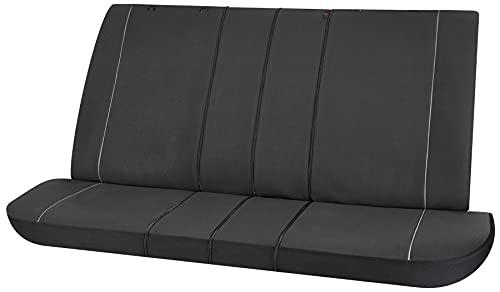 Walser Autositzbezüge Modulo Highback für beide Vordersitze schwarz universal passende Schonbezüge Set...