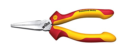Wiha Langbeck-Flachzange Professional electric (26732) 160 mm Zange fr Elektriker, VDE geprft, stckgeprft,...