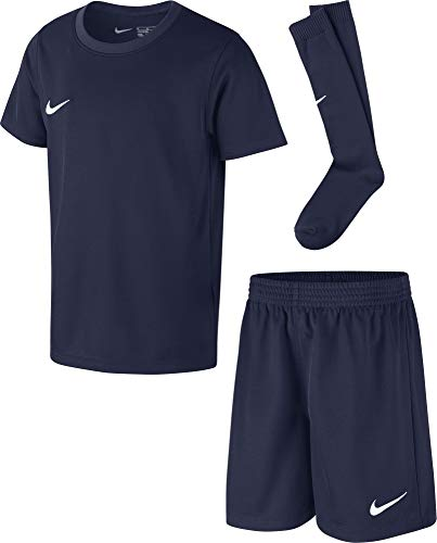 Nike Kinder Park 20 Kit K Fußball Trikot-Set, Midnight Navy/Midnight Navy/White, L