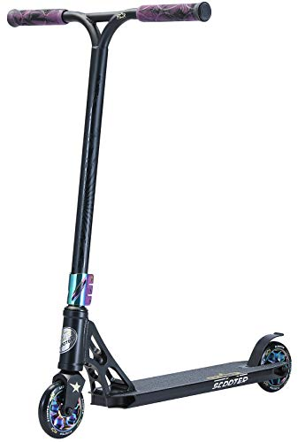 STAR SCOOTER Professional Freestyle Kick Stunt Scooter ab 8 Jahre | 110mm ABEC-9 Lager Alu Kinder City Roller...