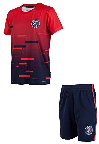 Paris Saint-Germain Trikot mit Shorts PSG, offizielle Kollektion, Kindergröße, Jungen 14 Jahre