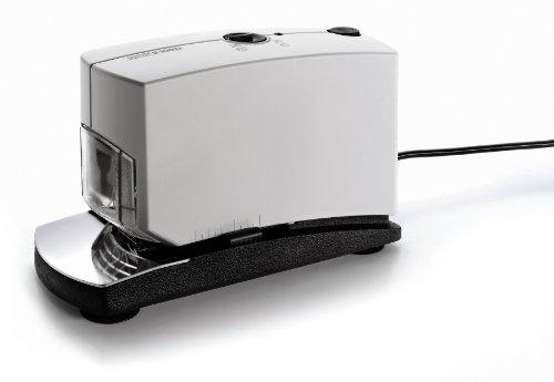 Novus B100EL Elektroheftgerät (elektronische Heftmaschine mit variabler Einlegetiefe von 5-50 mm) grau
