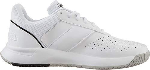 Adidas Herren Courtsmash Tennisschuhe Weiß (Ftwbla/Negbás/Gridos 000) , 45 1/3 EU