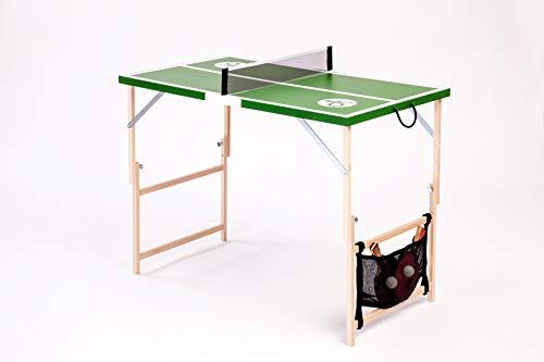 DISH TENNIS Mini Tischtennisplatte grün Die Neue grüne Welle